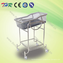 Stainless Steel Children Reclining Bassinet Bed (THR-RB002)