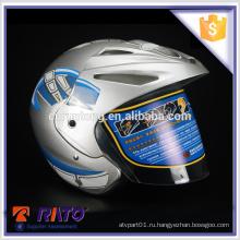 ABS sliver красивый мотоцикл full-face шлем оптом