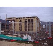 Clôture de construction temporaire solide galvanisée à bas prix