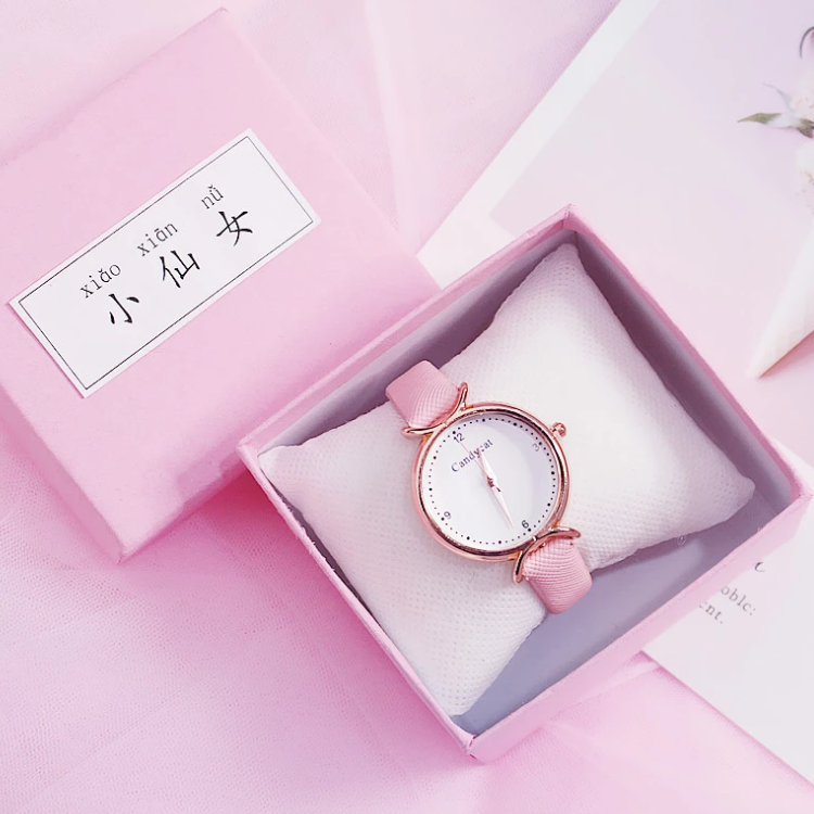 Pink Luxury Watch Box 2 Png