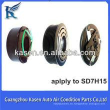 Accesorios vendedores calientes de la CA del coche sd7h15 12v embrague del compresor del aire acondicionado para 7H15-8PK