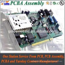 conjunto da placa de fiação com interruptores, pcb do mergulho do conjunto do pcb de smt