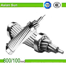 ACSR Sparrow Wire Cable de acero reforzado con conductor de aluminio