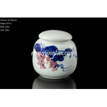Uva Pintura Cerâmica Caixinha de chá para Matcha ou chá solto 30g