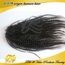 5A grade vierge tissage 100% cheveux humains afro kinky cheveux postiche postiche