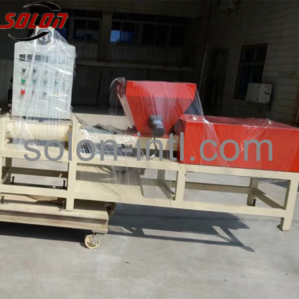 auto pallet block cutter for pallet block log