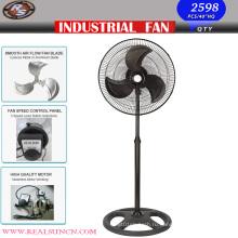 Мощный промышленный вентилятор с полным черным цветом