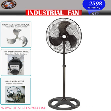 Powerful Industrial Fan with Full Black Color