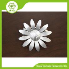 Decoração de moda flor design cortina clips