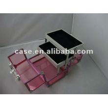 alu aluminum cosmetic box tool box