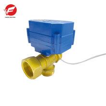 Actuador de válvula de bola eléctrico motorizado 12v