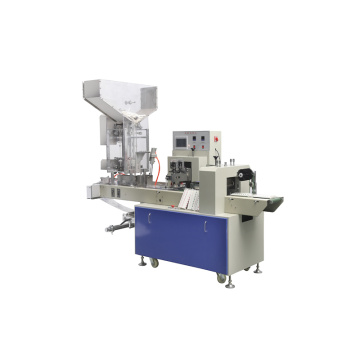 Multicolor paper straw packaging machine