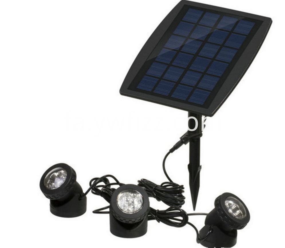Solar energy projector lamp