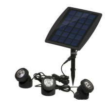 Lámpara de jardín solar al aire libre 18LED