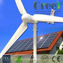 Usage domestique 5kw vent système générateur d'énergie solaire