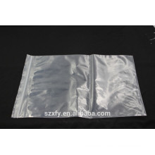 Clear OPP Plastic Packing Bag with Zipper lock