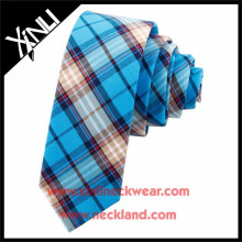 New Product 100% Cotton Custom Made Mens Skinny Ties