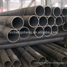 ASTM API 5L carbon steel pipe sch40 sch80 black seamless steel pipe