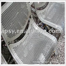 perforated metal piece