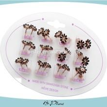Wholesale Fashion Jewelry Alloy Earrings Set Cheap Earring Set