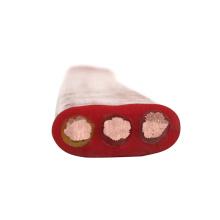 6 noyau plat pendentif flex câble de chariot plat flexible