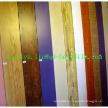 Película rígida decorativa del PVC del alto brillo para la laminación del techo, puertas, piso, afiladura, foto