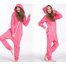 Winter Warm Casual Cotton Jumpsuit for Women