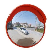 Indoor und Outdoor Unzerbrechlicher Orange Traffic Acryl Convex Spiegel