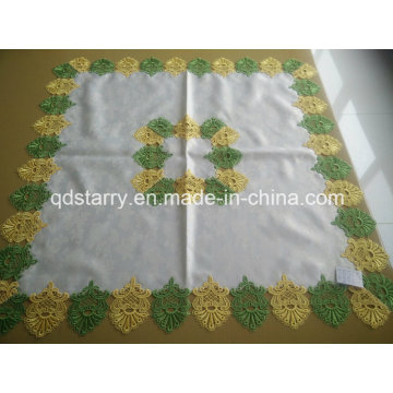 Green Color Lace Table Cloth St16-17