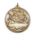High Quality Antique Silver Zinc Alloy Medals