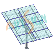 Solar Mounting Systems Concrete Block Foundation Ground-Mounted Solar Power System