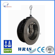 Pollution free ductile iron rubber sealing check valve