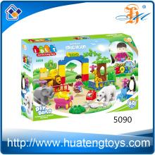 Mejor regalo educación niños diy artesanía aprendizaje bloques de construcción juguetes