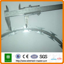 shunxing galvanized razor barbed wire