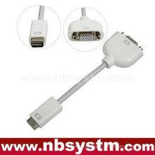 Mini adaptador de cabo DVI para VGA