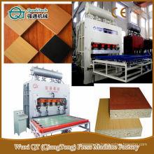 Heiß-Hydraulik-Druck-Laminat-Bodenbelag-Maschine