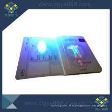 UV Ink Security Paper Document Printing