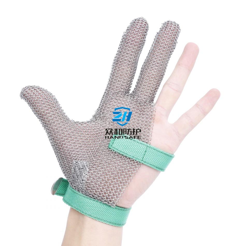 Welded Steel Mesh Work Gloves China Manufacturer
