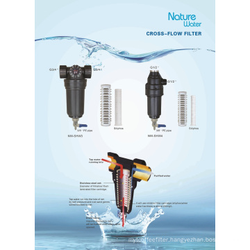 Cross-Flow Water Filter System / Water Purifier / Water Purification (NW-SHW3)