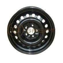 Steel cheap black wheels with size like 4Jx13, 5.5Jx14
