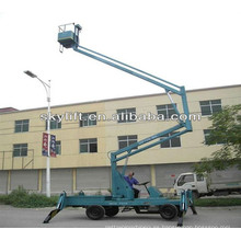 electric mobile grove manlift