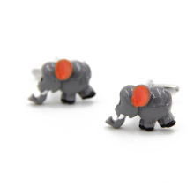VAGULA elefante Gemelos camisa abotoaduras (HLK35144)