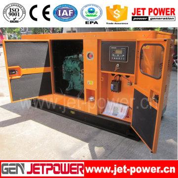 Супер Тихий генератор мощностью 80квт Электрический портативный генератор дизельный двигатель