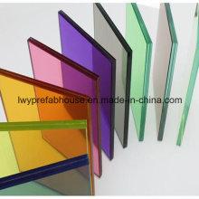 Versterkte gelaagd glas met gepolijste randen en gaten (LWY-LG04)