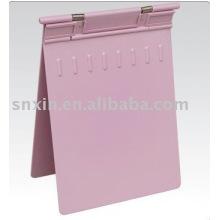 Розовый ABS держателя медицинской карты больницы устройств
