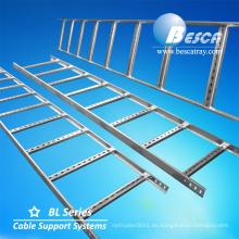 Sistema de soporte de cable Escalera galvanizada Escalera de cable de acero eléctrico Precio