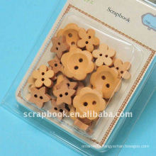 wooden button decorative buttons clothing buttons