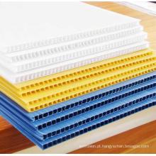 Placa oca de PP de materiais corrugados