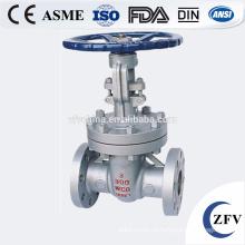 Фабрика цена ZFV API600, API6D, DIN 3202 литой & кованые ворота клапан фланцевый/SW/ДНЯО/BW концах подключения