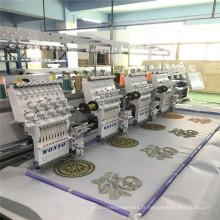 4 Têtes Ordinateur Broderie Machine à broder point de chaînette broderie prix